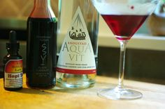 The Zuiderzee Cocktail featuring Krogstad Aquavit from Oregon  - Foodista.com