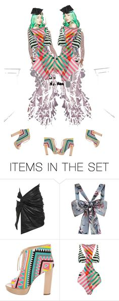 """""""Terrible twosome"""" by diannecollier ❤ liked on Polyvore featuring art and polyvoreeditorial"""