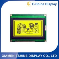 Specification:     EG12864 128x 64 Graphics COB LCD Module Display type: FSTN or STN Module Size: 87.0×71.0×9.0mm Viewing area: 62.0×44.0mm Controller: IC: NT7107& NT7108 Yellow-green LED, white LED, blue LED Normal temp or wide temp are available