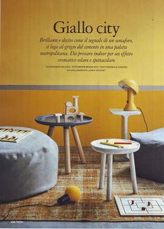 The yellow appeal of Elmetto and O! lamps