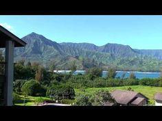 Hanalei Bay Resort 52012 Lanai Morning Sunrise, Kauai Hawaii - YouTube