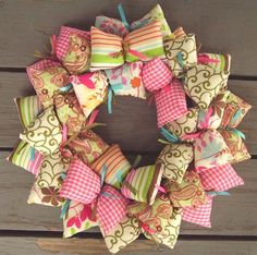 Wreath - shabby chic | SooBoo - Housewares on ArtFire