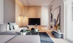 Apartamento en madera natural