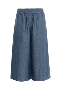 Now's your chance to see what all the hype's about. Make this your 9-to-5 summer staple. MIH chambray culottes, $295; matchesfashion.com   - MarieClaire.com