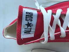 1b6dd50a57d Converse Chuck Taylor All Stars Red Low Top Sneakers Shoes Mens 6 Womens 8   fashion
