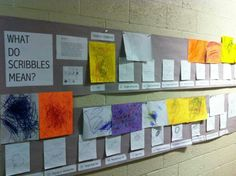 Scribble documentation- like how it is focused on meaning-making and includes the children's theories, the adult's theories, and work samples in a very clear visual format Learning Stories, Play Based Learning, Learning Through Play, Reggio Classroom, Preschool Classroom, Kindergarten Activities, Preschool Rooms, Preschool Art, School Displays