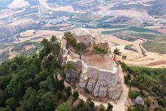 Castillo de Villamayor de Monjardín. Unas vistas espectaculares desde un lugar estratégico