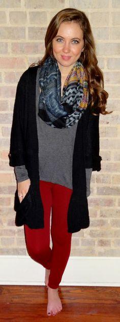 Comfortable, casual, and cute layered winter fashion - Studio 3:19