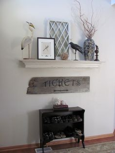 Hayes Wooden Mantel Shelf Made By Charming Rustic Accents La Belle Maison Pinterest Mantels And Shelves