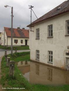 2002, Stod, povodeň, Merklínka, foto Pavel Dolejš.