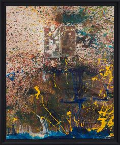 Shozo Shimamoto Richard Serra, Action Painting, Helen Frankenthaler, American Artists, Abstract Expressionism, Mixed Media, My Arts, Landscape, Inspiration