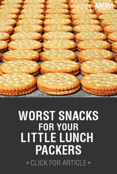 When you're packing your kids lunches, make sure to stay away from these options! From your pediatric dentist locator, Dentists 4 Kids. www.dentists4kids.com #Dentists4Kids #pediatric-dentist