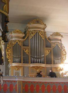 Großhartmannsdorf - Dorfkirche, organ by pietbron, via Flickr