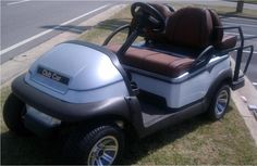 Custom Club Car shown at 2013 Masters. If you'd like to own this one of a kind cart go to http://clubcardealer.com/locator, contact your dealer, and mention this vehicle. #PF1338-401332