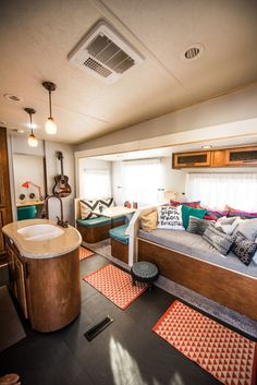 awesome RV Hacks, Remodel and Renovation: 99 Hybrid Camper Travel Trailer Ideas http://www.99architecture.com/2017/03/07/rv-hacks-remodel-renovation-99-hybrid-camper-travel-trailer-ideas/