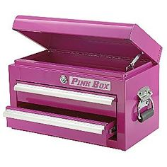 Another pink toolbox - this one is prob a little more my speed : )