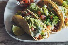 easy #vegan tacos | RECIPE on hotforfoodblog.com MAKE THIS