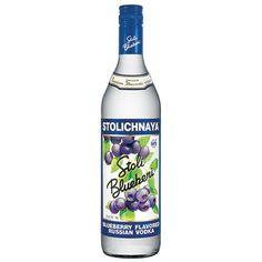 Liquorama - Stolichnaya Blueberi Flavored Russian Vodka 750ml, $21.99 (http://www.liquorama.net/stolichnaya-blueberi-flavored-russian-vodka-750ml.html/)