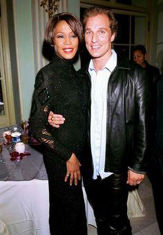 Whitney Houston & Matthew McConaughey