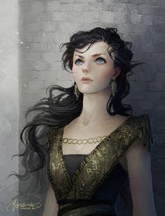 Storm Queen (Argella Durrandon) by JanainaArt