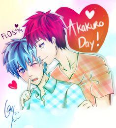 Happy Akakuro day~ *Yesterday*