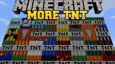 The Too Much TNT mod gives players 44 new and distinct ways to get the job done, with more than three dozen new explosive TNT blocks, some of which are capable of destroying a great deal of a world with a single application.