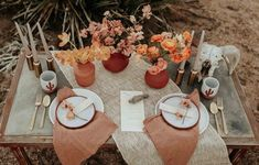 This Joshua Tree wedding has the most perfect boho glam details that will have you swooning! Karra Leigh Photo captured the wedding inspiration. Orange Wedding, Wedding Colors, Wedding Styles, Wedding Table Centerpieces, Wedding Decorations, Table Decorations, Autumn Wedding, Boho Wedding, Terracotta