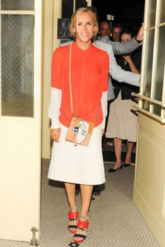 Tory Burch at the Trademark store opening in New York, Sept 2014