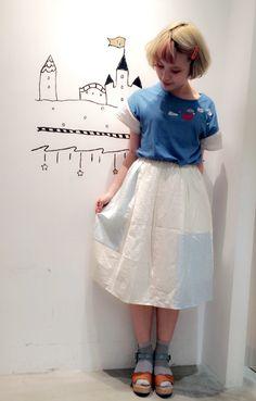 一枚でも主役に最適のスカート♪ | 新宿ミロード店 | POU DOU DOU ショップブログ