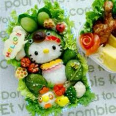 Hello kitty food ;)