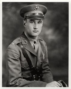 Harold W. Bauer, US Marine Corps aviator in WWII – awarded the Medal of Honor for his heroic actions during the battle for the Solomon Islands.