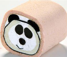 panda cake roll #wedding www.BlueRainbowDesign.com