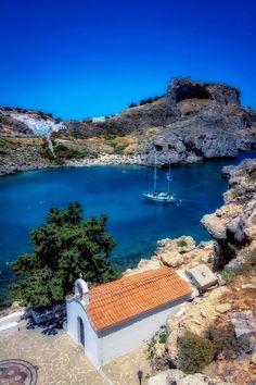 ღღ Lindos Rhodes, Greece