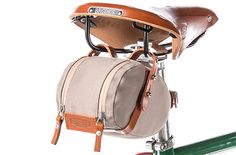 Small Isle of Wight Brooks Saddle Bag for Bicycle Seats