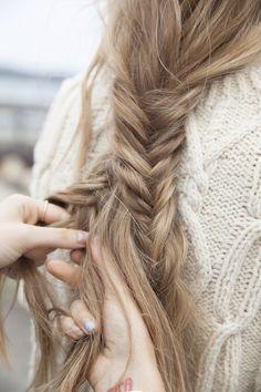 braid my hair.