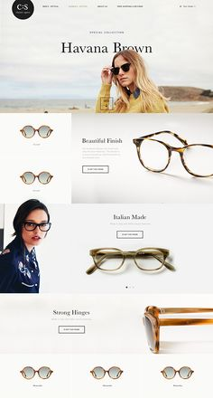 Chico & Lui partnered with Classic Specs to redesign their e-commerce site Design Sites, Ux Design, Layout Design, Flat Design, Graphic Design, Web Design Mobile, Fashion Banner, Newsletter Design, Ui Web