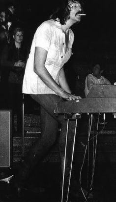 """Jon Lord, Deep Purple, died July 16, 2012. Hard rock organist extraordinaire, responsible for the attack of """"Highway Star"""" and """"Space Truckin',"""" amongst others. LISTEN: http://grooveshark.com/s/Highway+Star/4nXaVa?src=5  . . . READ: http://www.nme.com/news/deep-purple/64953"""