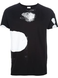 SAINT LAURENT - splash t-shirt 6