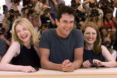 Pin for Later: Retour Sur les Meilleures Photos du Festival de Cannes Depuis Sa Création  Cate Blanchett, Rupert Everett, et Julianne Moore en 1999.