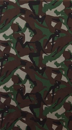 Fat Quarter - Alexander Henry Pin Up Camouflage Girls Fabric Army Green Custom Tuxedo, Groomsmen Tuxedos, Alexander Henry Fabrics, Fraternity Shirts, Camo Colors, Retro Pin Up, Amazon Art, Fabric Online, Pin Up Girls
