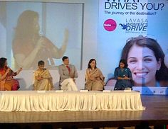 An expert panel of senior doctors explain Cervical Cancer, prevention and cure at Lavasa Women's Drive 2012 briefing session in Mumbai.