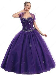 Grape Quinceanera Dresses #ballgowns