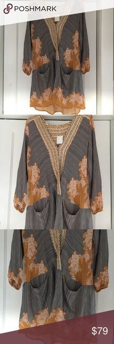 Free people tunic NwT Free people tunic two front pockets NWT Free People Tops Tunics