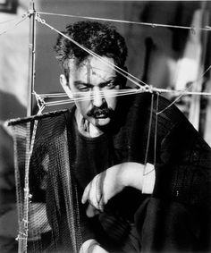 Calder - this is the youngest image of Alexander Calder I've ever seen. He's rather dashing!