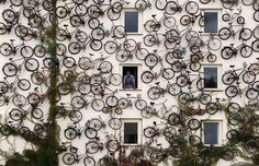 Bicycle wall!