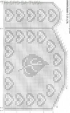 Häkeln & Filethäkeln Gardinen / crochet curtain