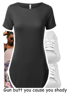 """""""Tuesday """" by baaaditori ❤ liked on Polyvore featuring adidas"""