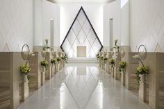 minimalist wedding venue