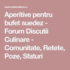 Aperitive pentru bufet suedez - Forum Discutii Culinare - Comunitate, Retete, Poze, Sfaturi