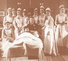 Glasgow Royal Infirmary pioneered a revolution in nurse training in 1893 with the first probationers' course set up by the redoubtable matron, Mrs Rebecca Strong. The Infirmary's new regulations from 1893 allocated nurses time for lectures and study, and they set the pattern of nursing schools throughout Britain. They also established the broad pattern of hospital-based practical and theoretical training for nurses that was to last more than 80 years. Psych Nurse, Nurse Humor, Vintage Nurse, Vintage Medical, Radiology Humor, Medical Photos, Nurse Quotes, Funny Quotes, Medical Posters
